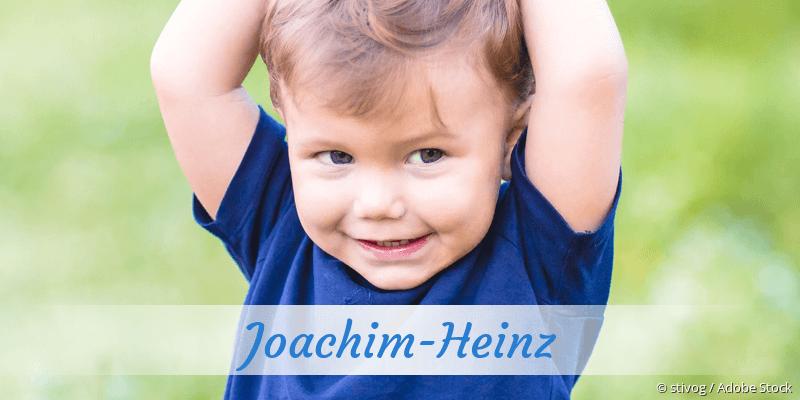 Name Joachim-Heinz als Bild