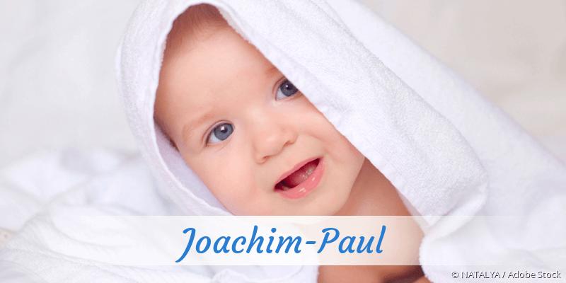 Name Joachim-Paul als Bild