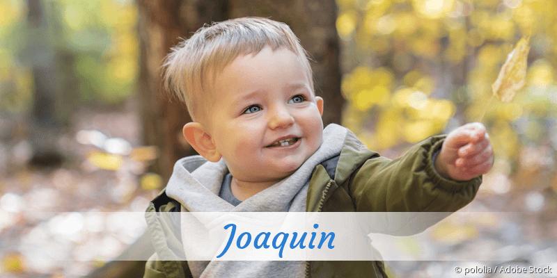 Name Joaquin als Bild
