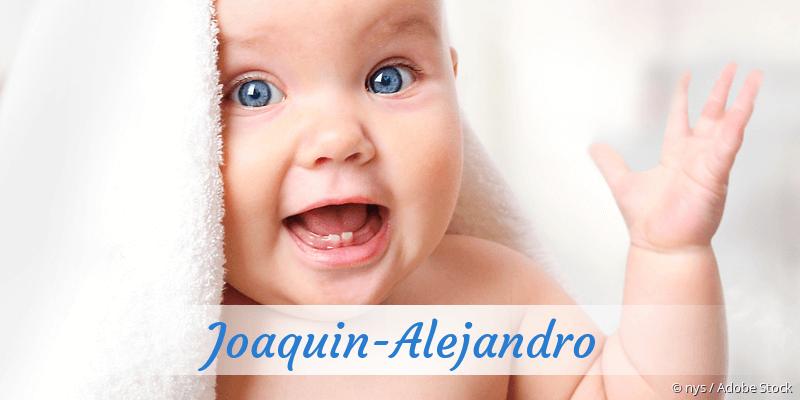 Name Joaquin-Alejandro als Bild