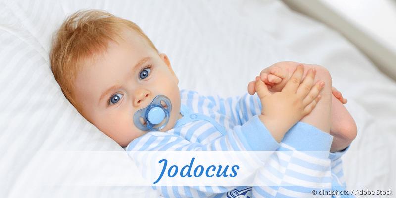 Name Jodocus als Bild