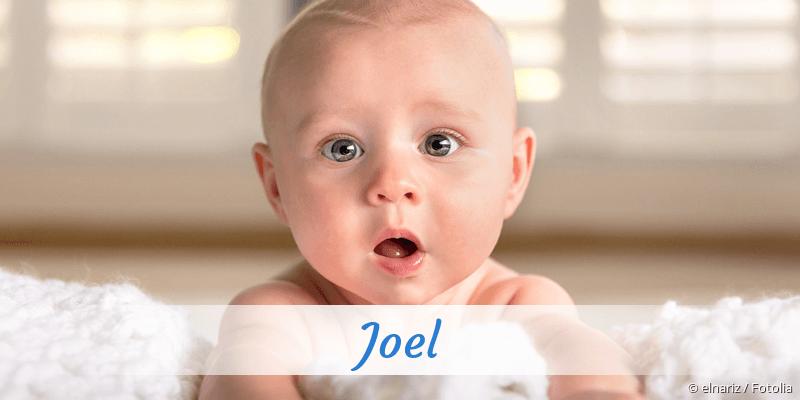 Name Joel als Bild