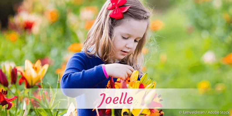 Name Joelle als Bild