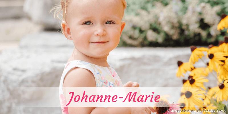 Name Johanne-Marie als Bild