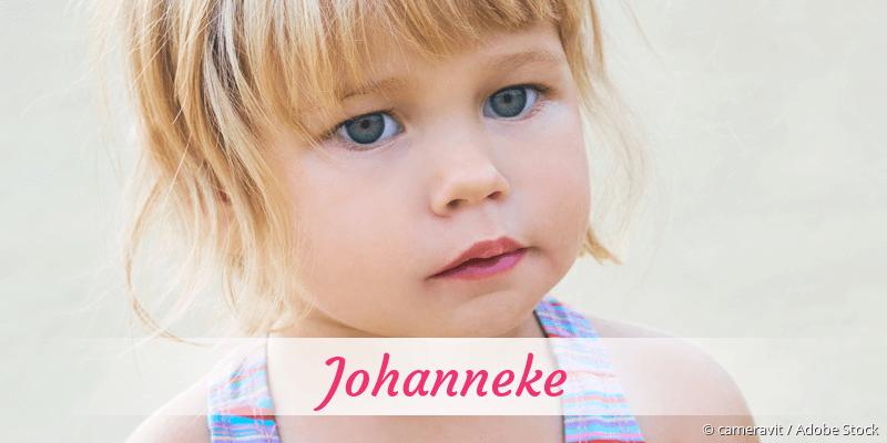 Name Johanneke als Bild