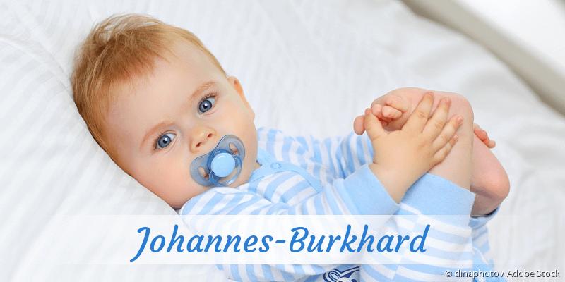 Name Johannes-Burkhard als Bild