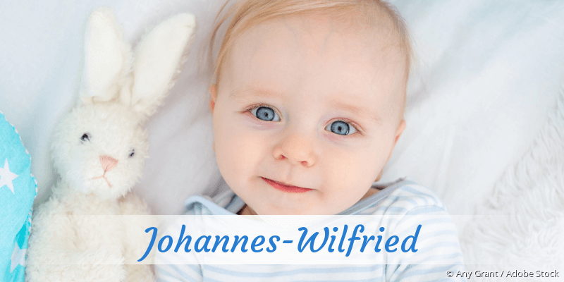 Name Johannes-Wilfried als Bild