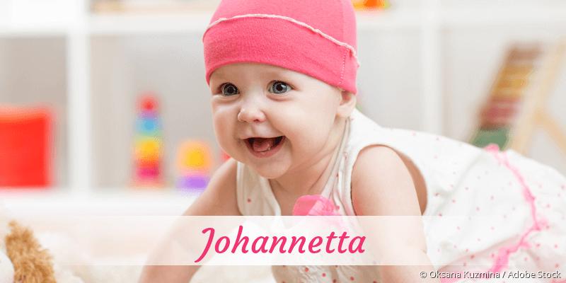 Name Johannetta als Bild