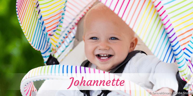Name Johannette als Bild