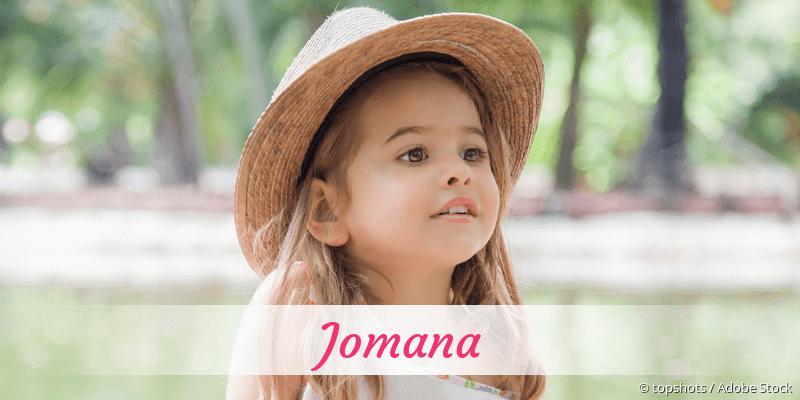 Name Jomana als Bild