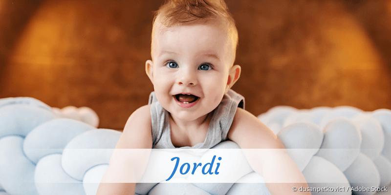 Name Jordi als Bild