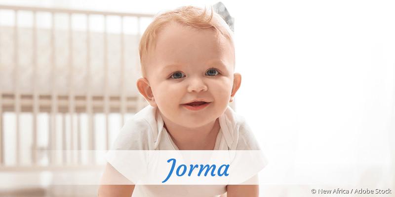 Name Jorma als Bild