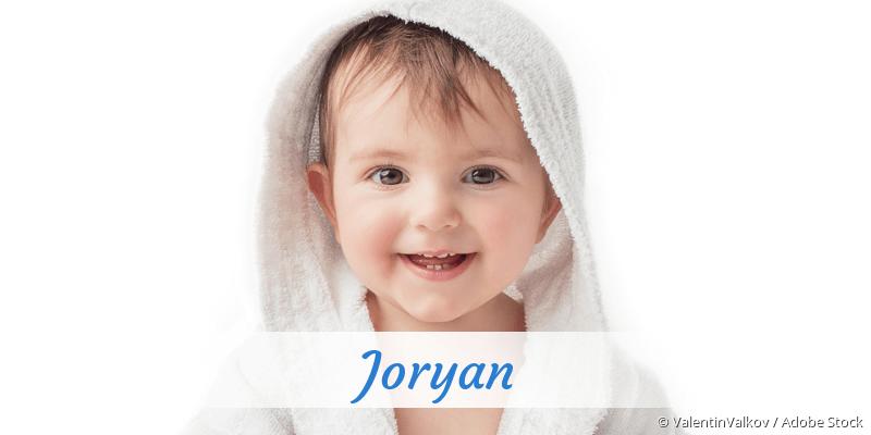 Name Joryan als Bild