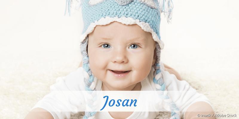 Name Josan als Bild