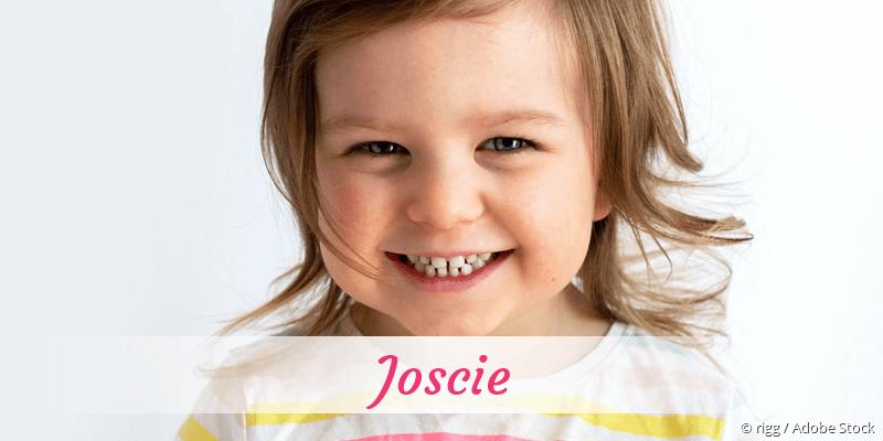 Name Joscie als Bild