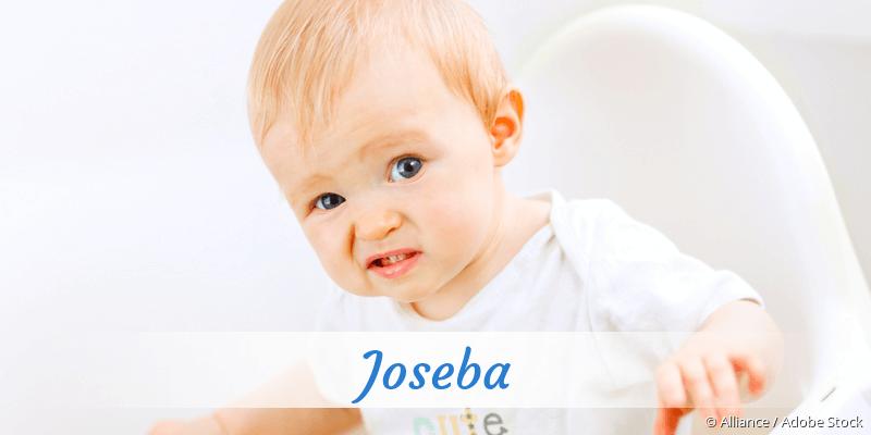 Name Joseba als Bild