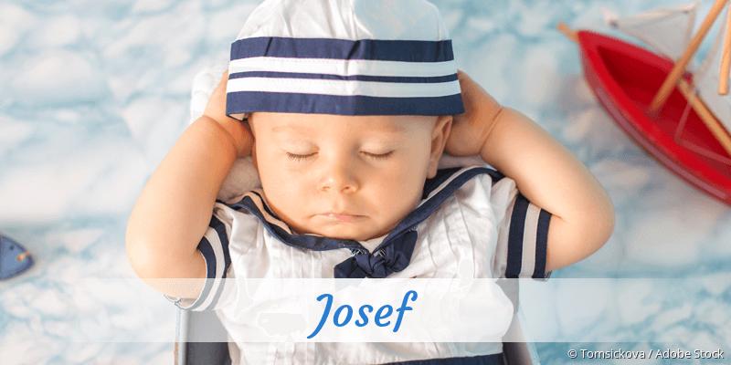 Name Josef als Bild