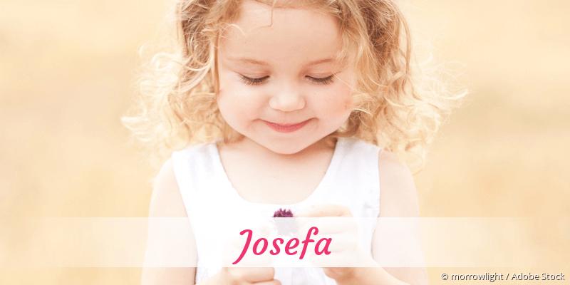 Name Josefa als Bild
