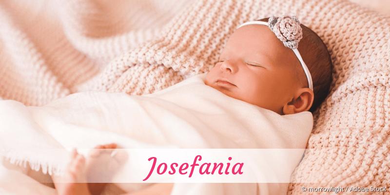 Name Josefania als Bild