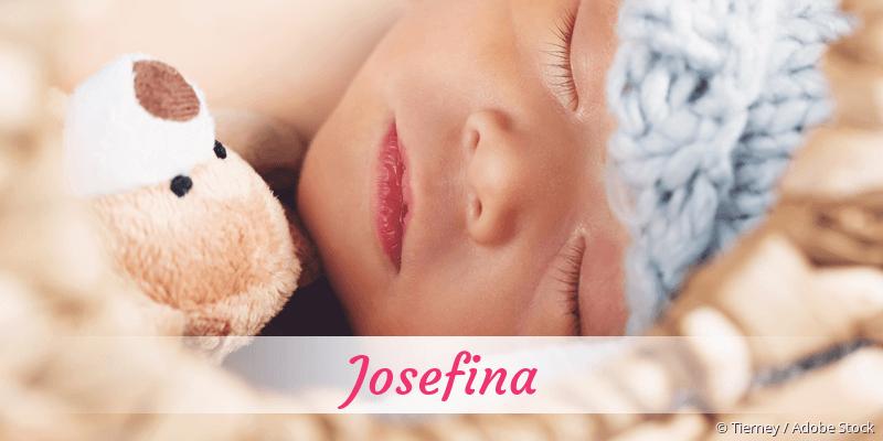 Name Josefina als Bild