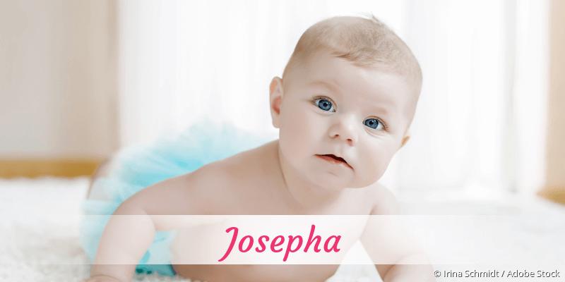Name Josepha als Bild