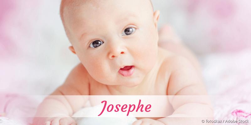 Name Josephe als Bild