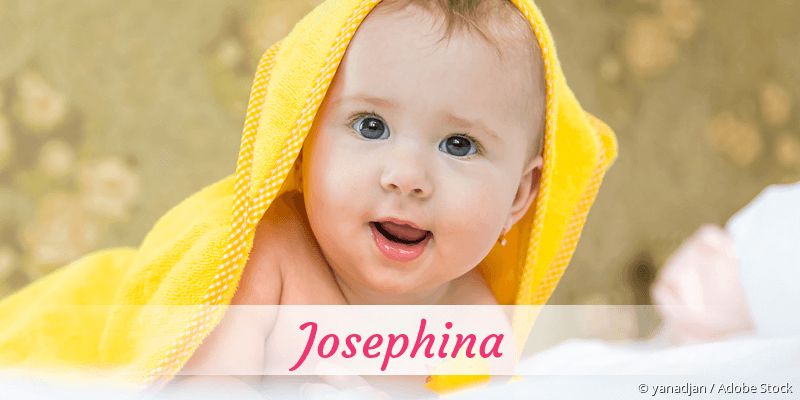 Name Josephina als Bild