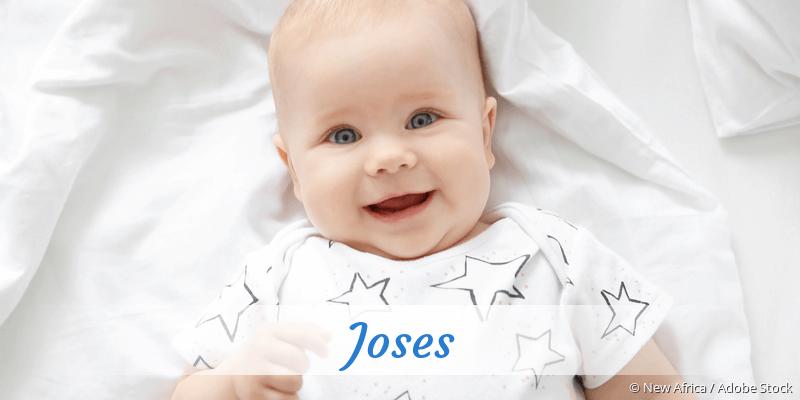 Name Joses als Bild