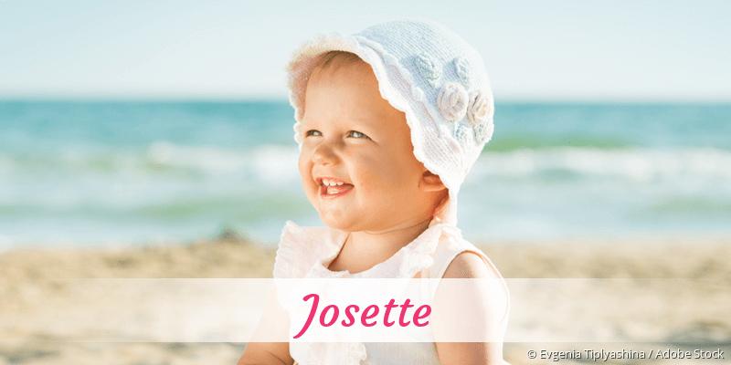 Name Josette als Bild