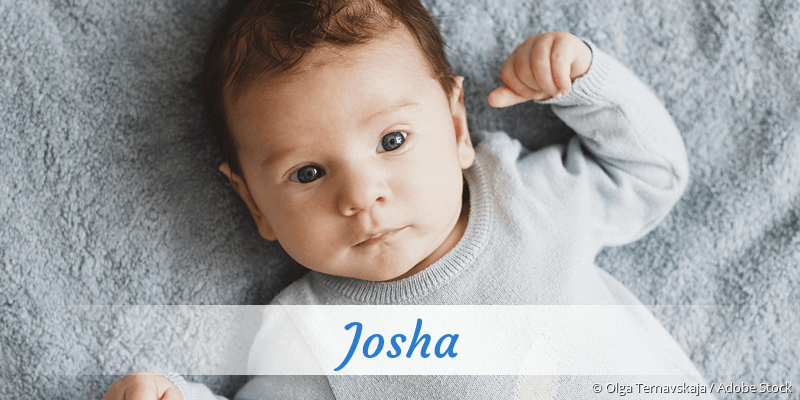 Name Josha als Bild