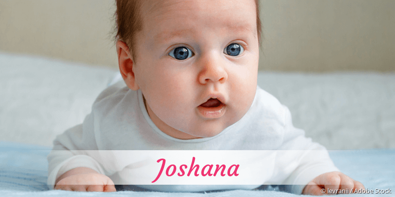 Name Joshana als Bild