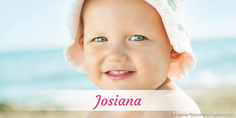 Name Josiana als Bild