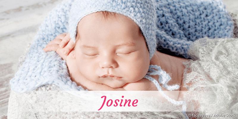 Name Josine als Bild