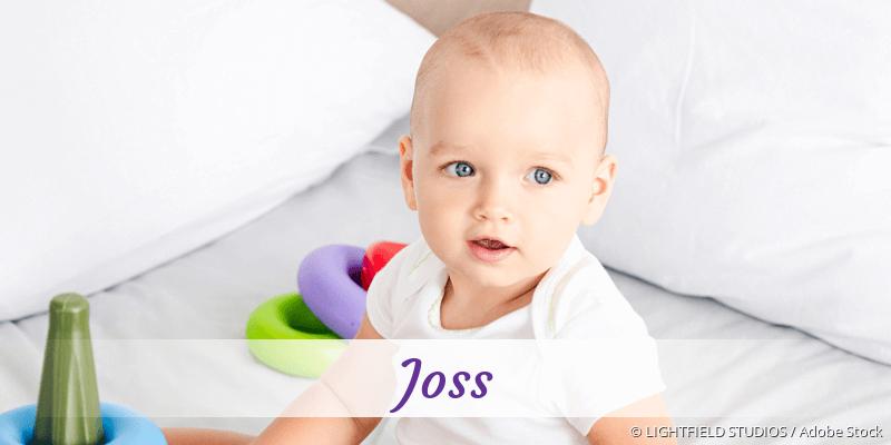 Name Joss als Bild