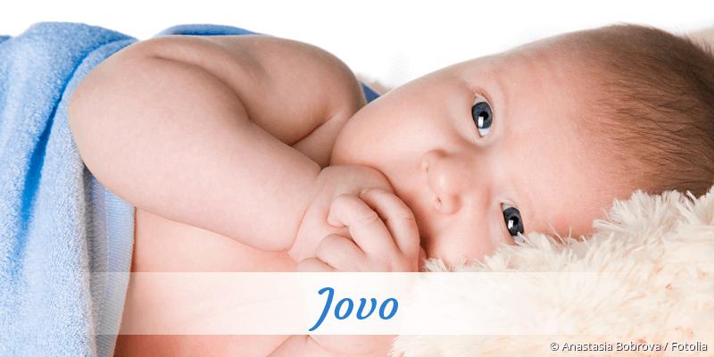 Name Jovo als Bild