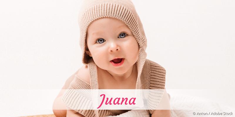 Name Juana als Bild