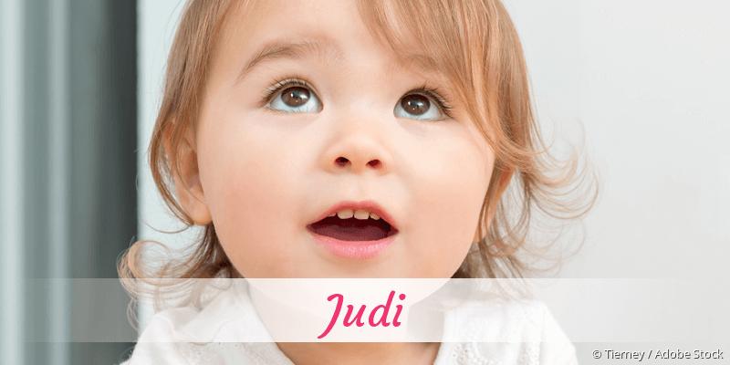 Name Judi als Bild