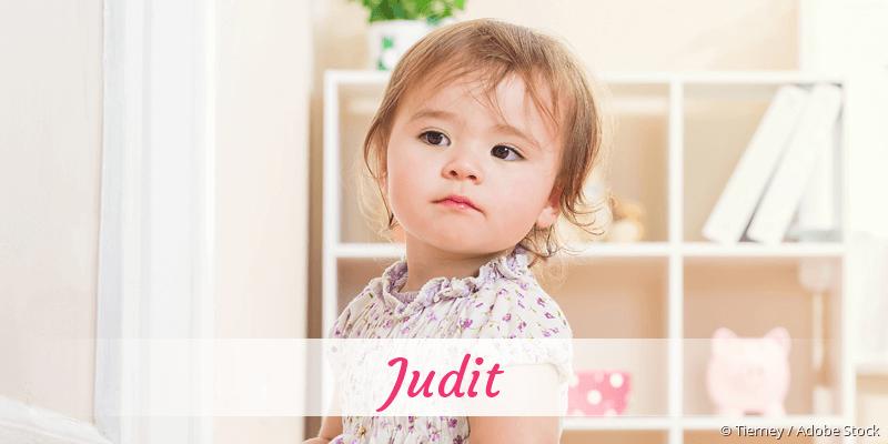 Name Judit als Bild