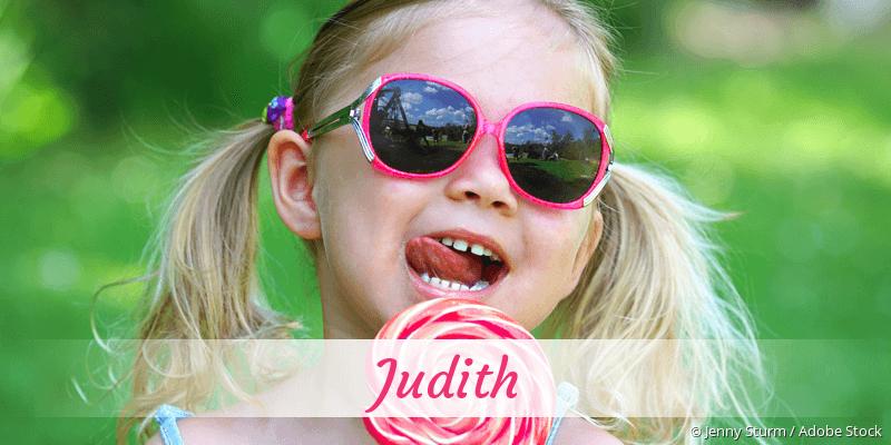 Name Judith als Bild