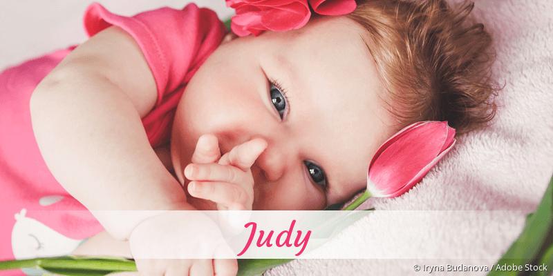 Name Judy als Bild