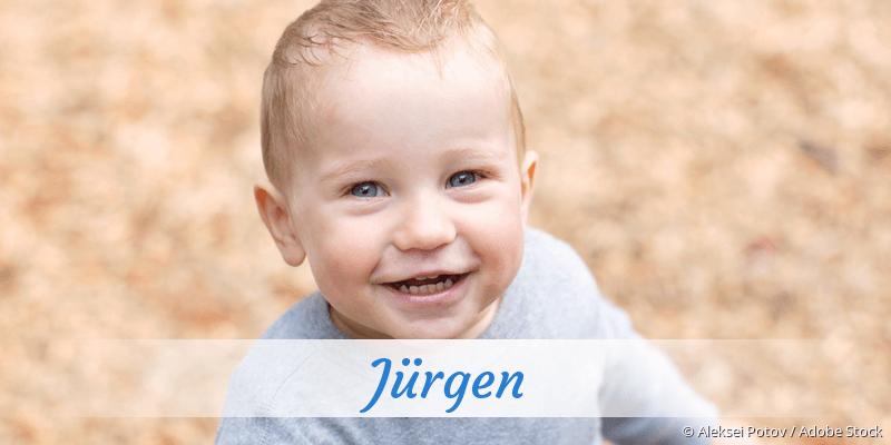 Name Jürgen als Bild