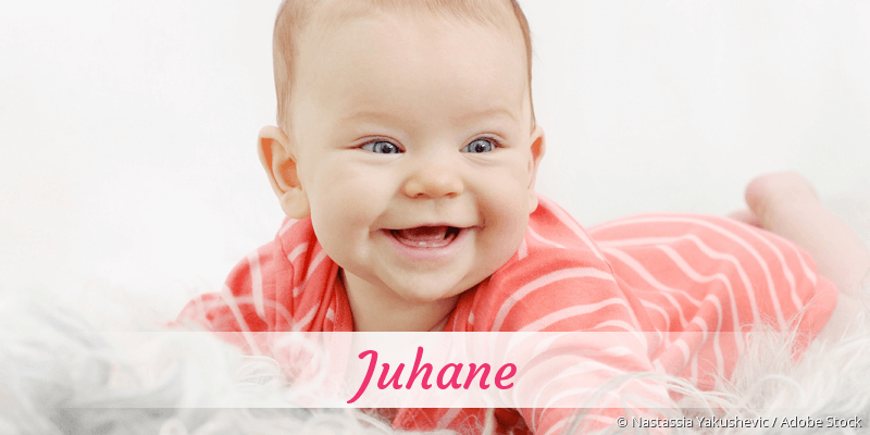 Name Juhane als Bild