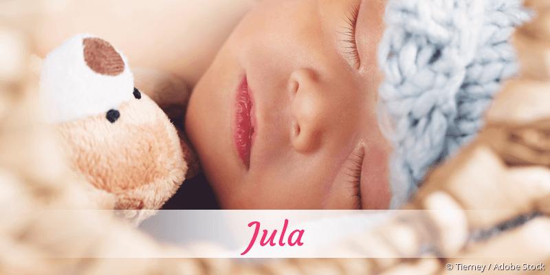 Name Jula als Bild