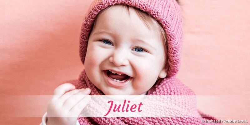 Name Juliet als Bild