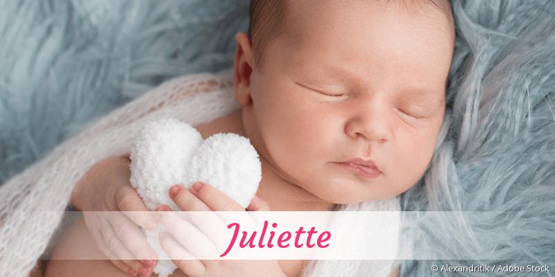 Name Juliette als Bild