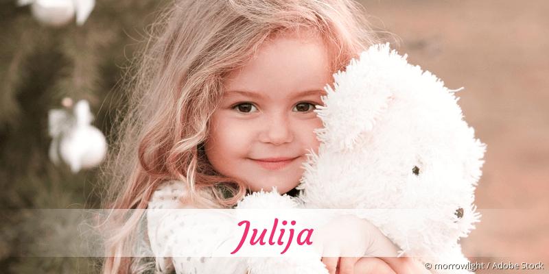 Name Julija als Bild
