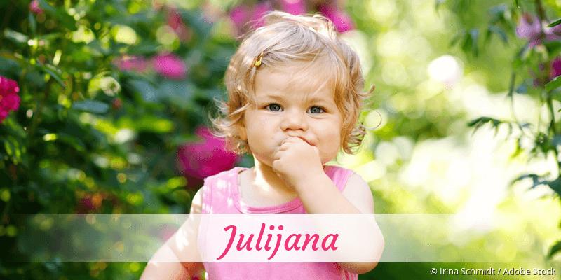 Name Julijana als Bild