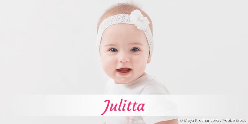 Name Julitta als Bild