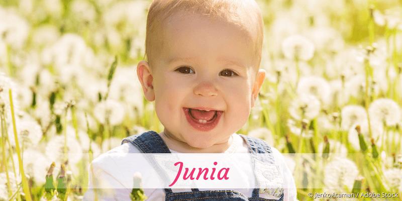 Name Junia als Bild