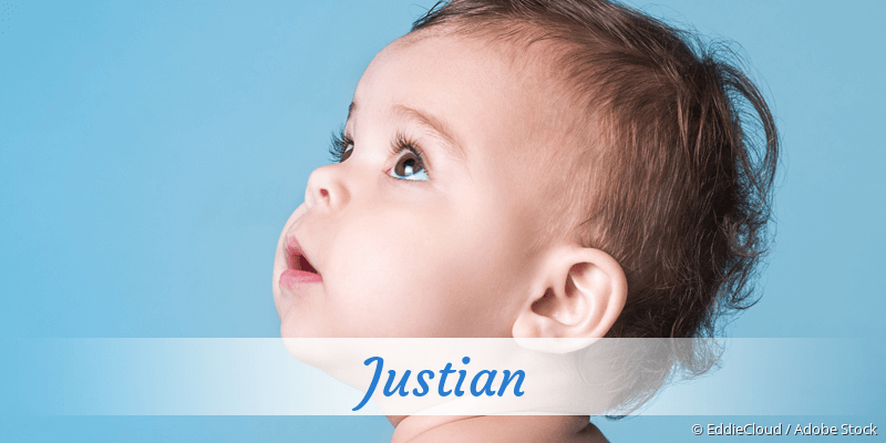 Name Justian als Bild